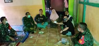 IWO Landak Salurkan Donasi Ke Istri Almarhum Jurnalis Devi Zulkarnain