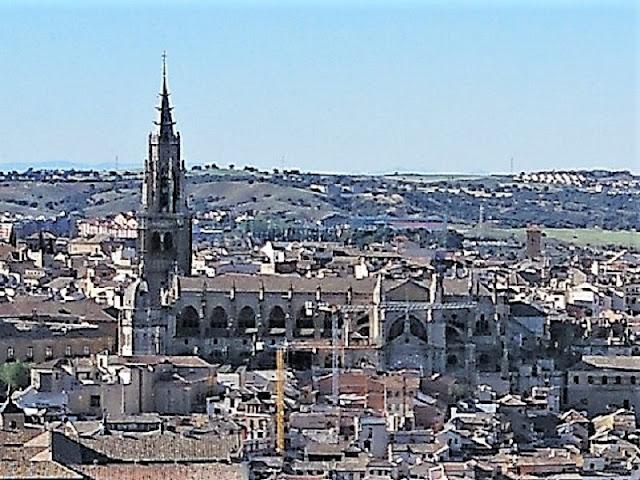 Toledo - Catedral vista desde el Parador Nacional