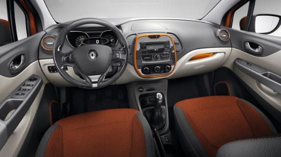 2017 Renault Captur Interior