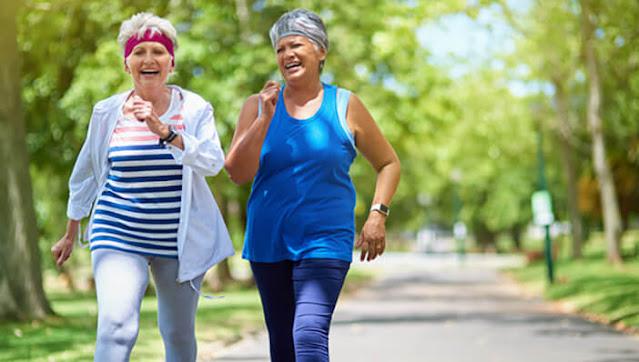 ما مدى سرعة المشي النشط ؟