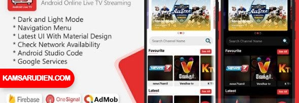 Android Live TV Streaming.
