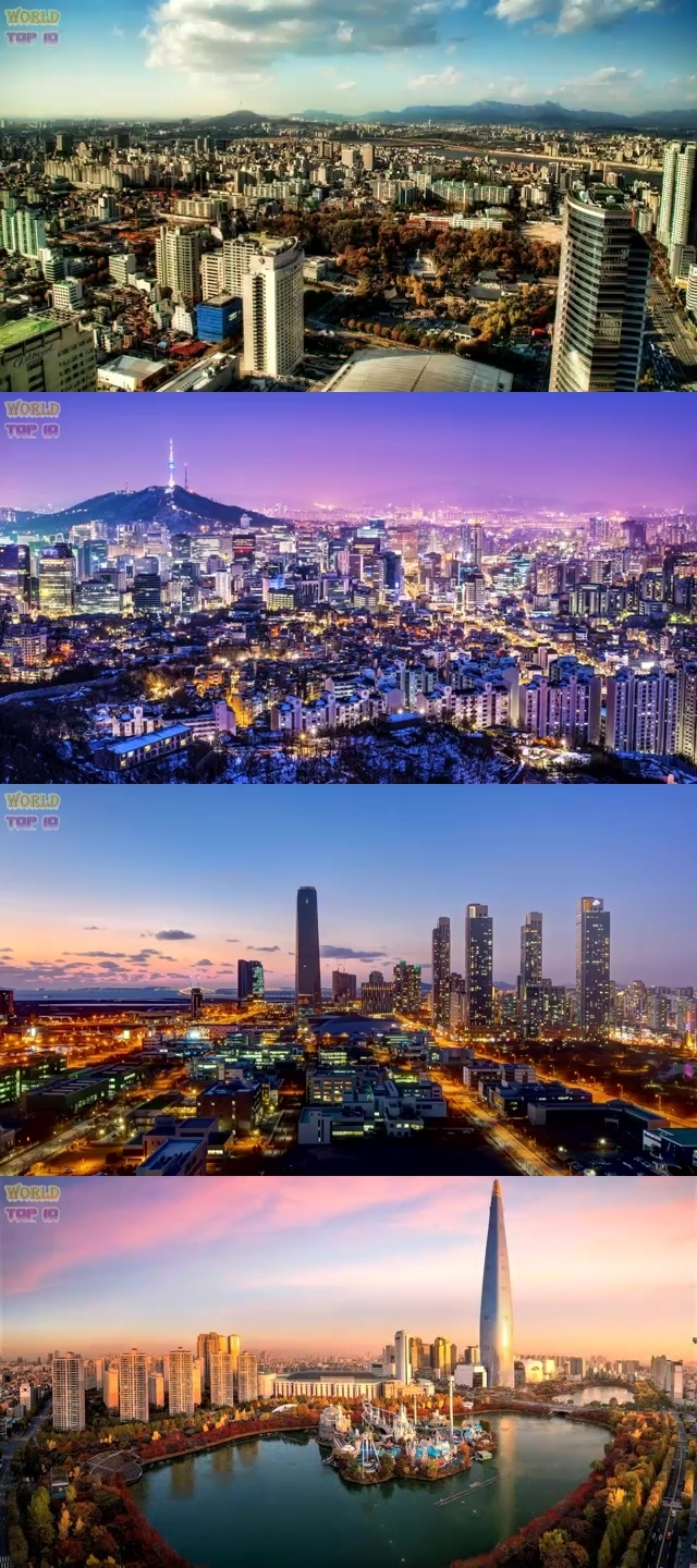 TOP 10 MOST BEAUTIFUL CITIES IN ASIA 2019 7. Seoul, South Korea