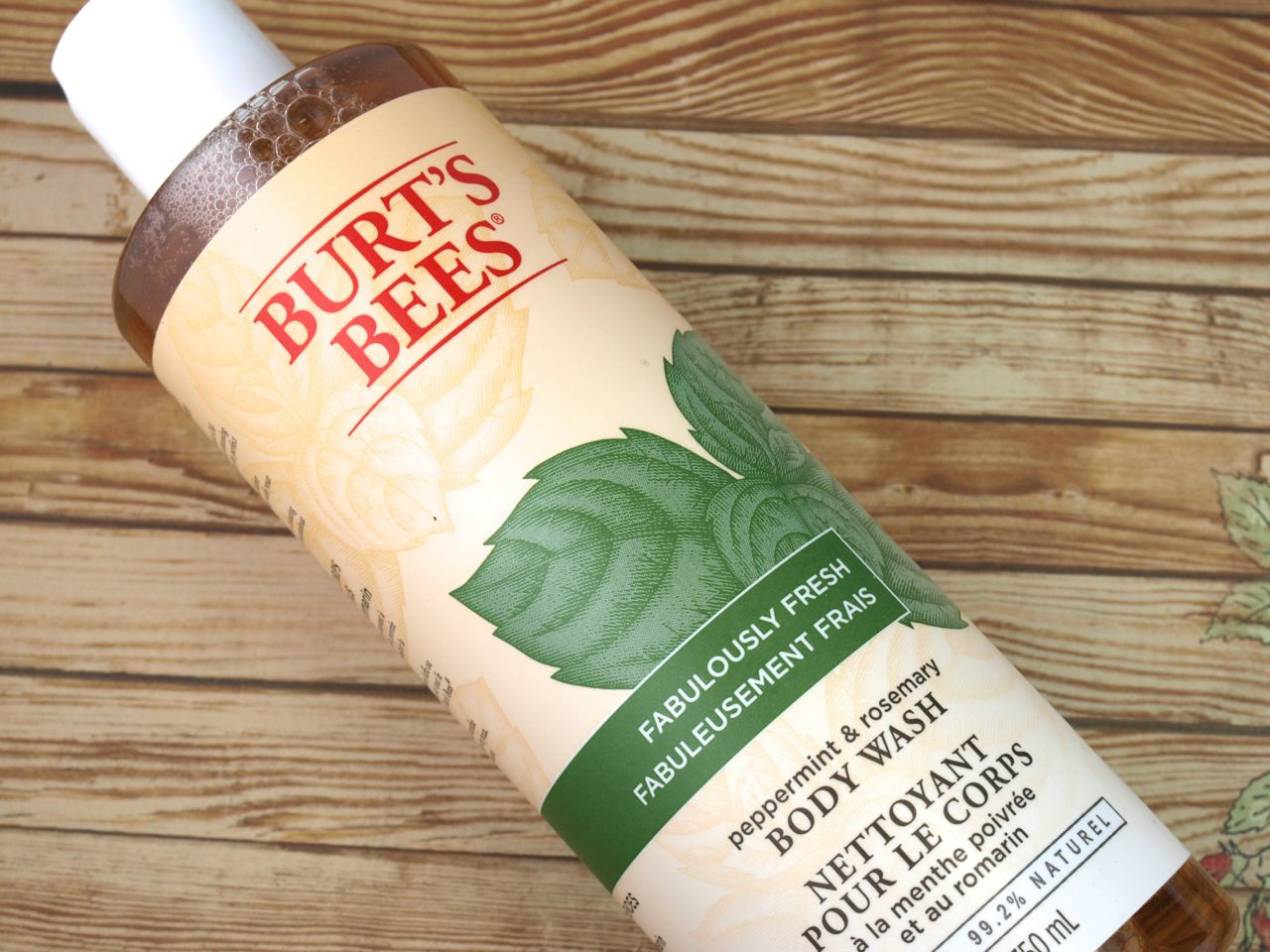 Burt's Bee Holiday 2014 Energizing Peppermint Kit: Review