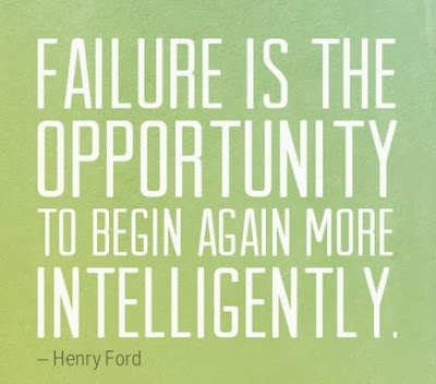 student failure is the opportunity.