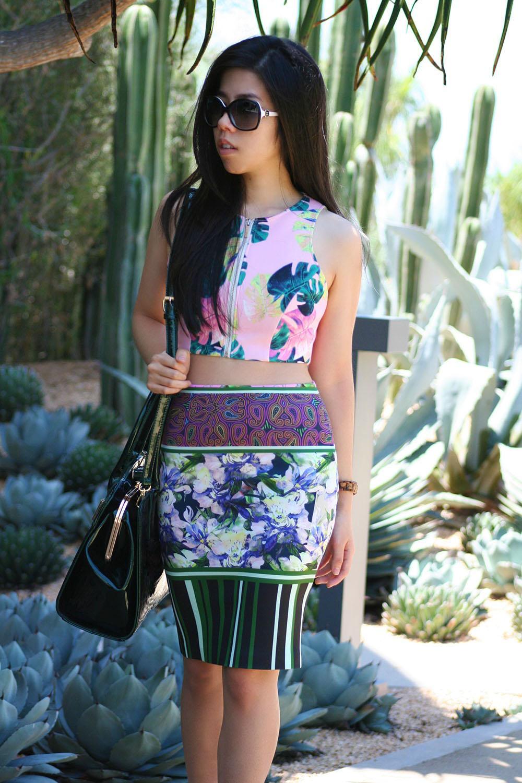 Adrienne Nguyen_Summer Fashion_Summer Style_Neoprene Crop Top_Zipper Crop Top_How to Wear a Crop Top