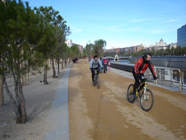 Visita guiada 'Madrid Río en bicicleta'