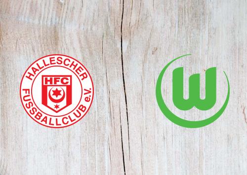 Hallescher FC vs Wolfsburg -Highlights 12 August 2019