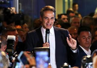 Mitskawis sworn in as Prime Minister of Greece