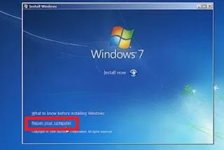 Cara termudah mengatasi lupa password login windows 7