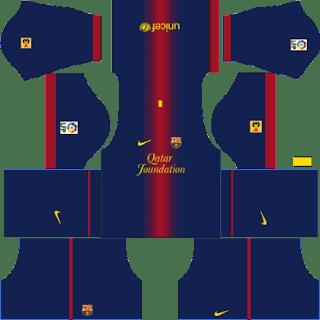 Kit DLS FC Barcelona 2012/2013