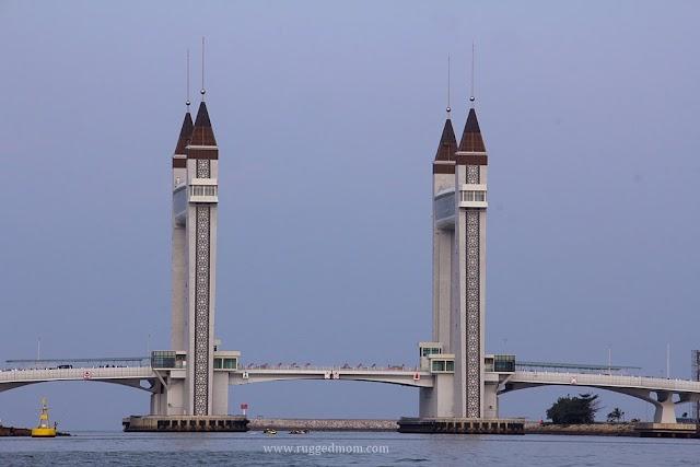Ikon terkini Terengganu | Jambatan Angkat @ Terengganu Drawbridge