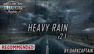 ats heavy rain mod v2.1