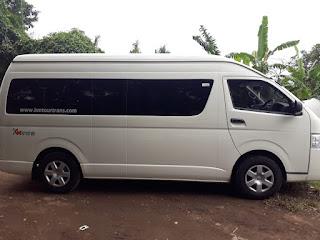 Sewa Toyota Hiace Commuter Bandung 2019