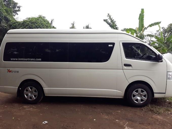 Sewa Toyota Hiace Bandung 2019