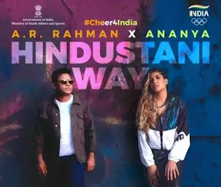 HINDUSTANI WAY Lyrics - A. R. Rahman x Ananya