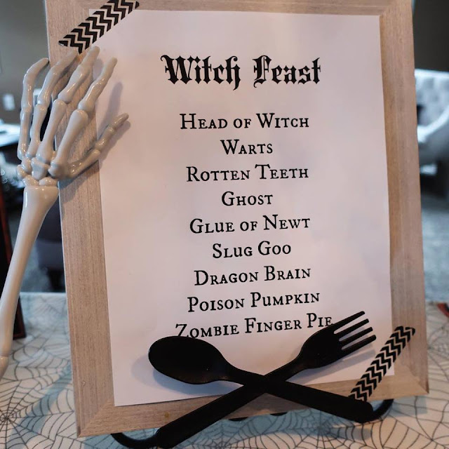 Amazing Fun Halloween Menu This is perfect for Halloween Dinner!