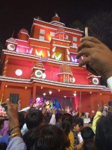 Durga puja pandal kolkata west bengal