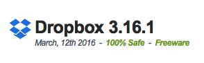 Dropbox 3.16.1 Latest Version 2016 Free Download