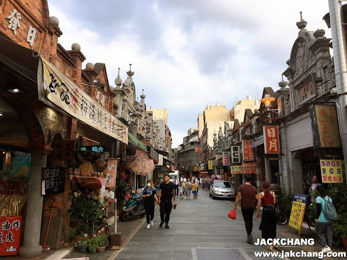Travel in Taoyuan-Daxi Old Street, Historic Buildings, Street food