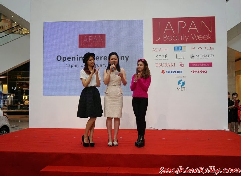 My Experience Japan Beauty Week KL, Japan Beauty Week, Japan, emcee