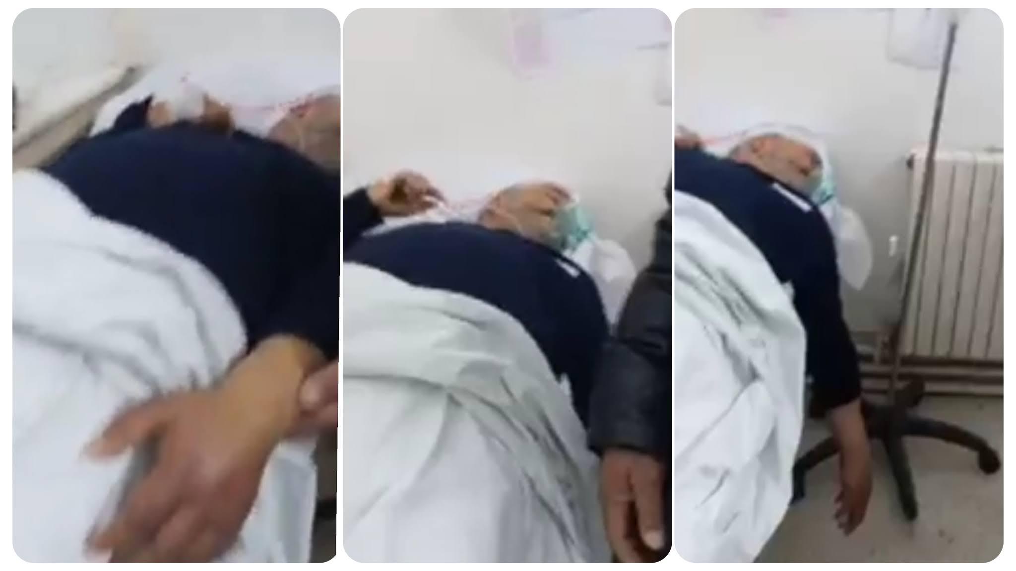 فيديو صادم و كارثي.. فضيحة في مستشفى حبيب ثامر