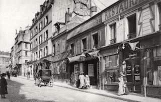Les cabarets de la rue Pigalle