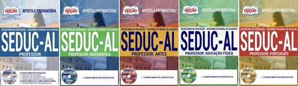 Apostila do concurso Seduc-AL 2017/2018, PROFESSOR