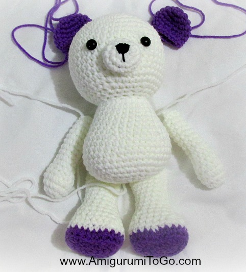 Crochet Plush Teddy Bear [FREE Amigurumi Pattern+Tutorials] | 533x482