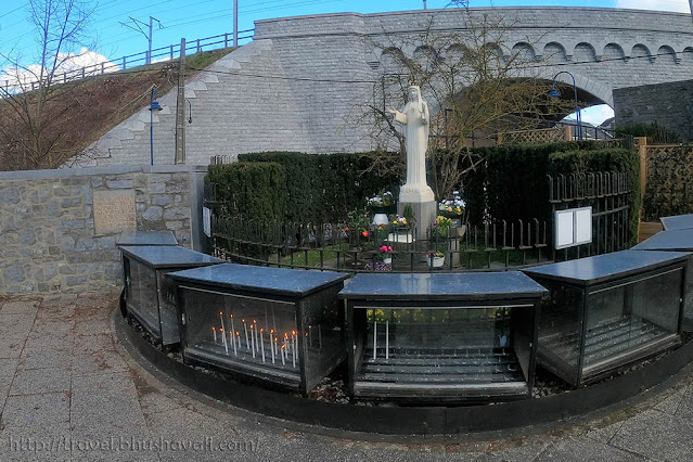 Beauraing Sanctuaries Apparitions of Our Lady with Golden Heart