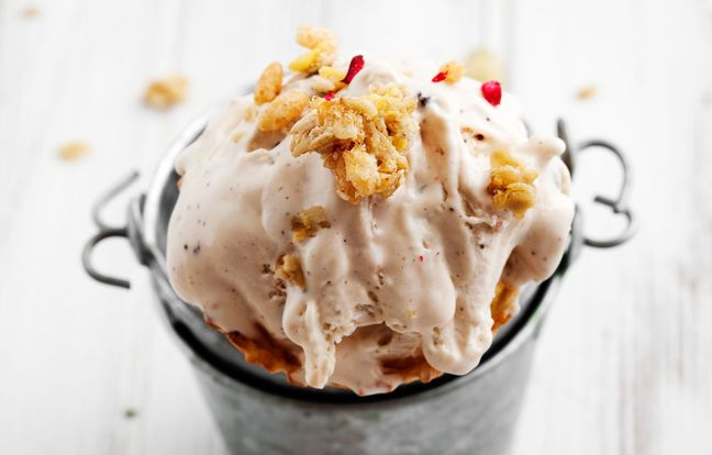 Salted Butterscotch Ice Cream