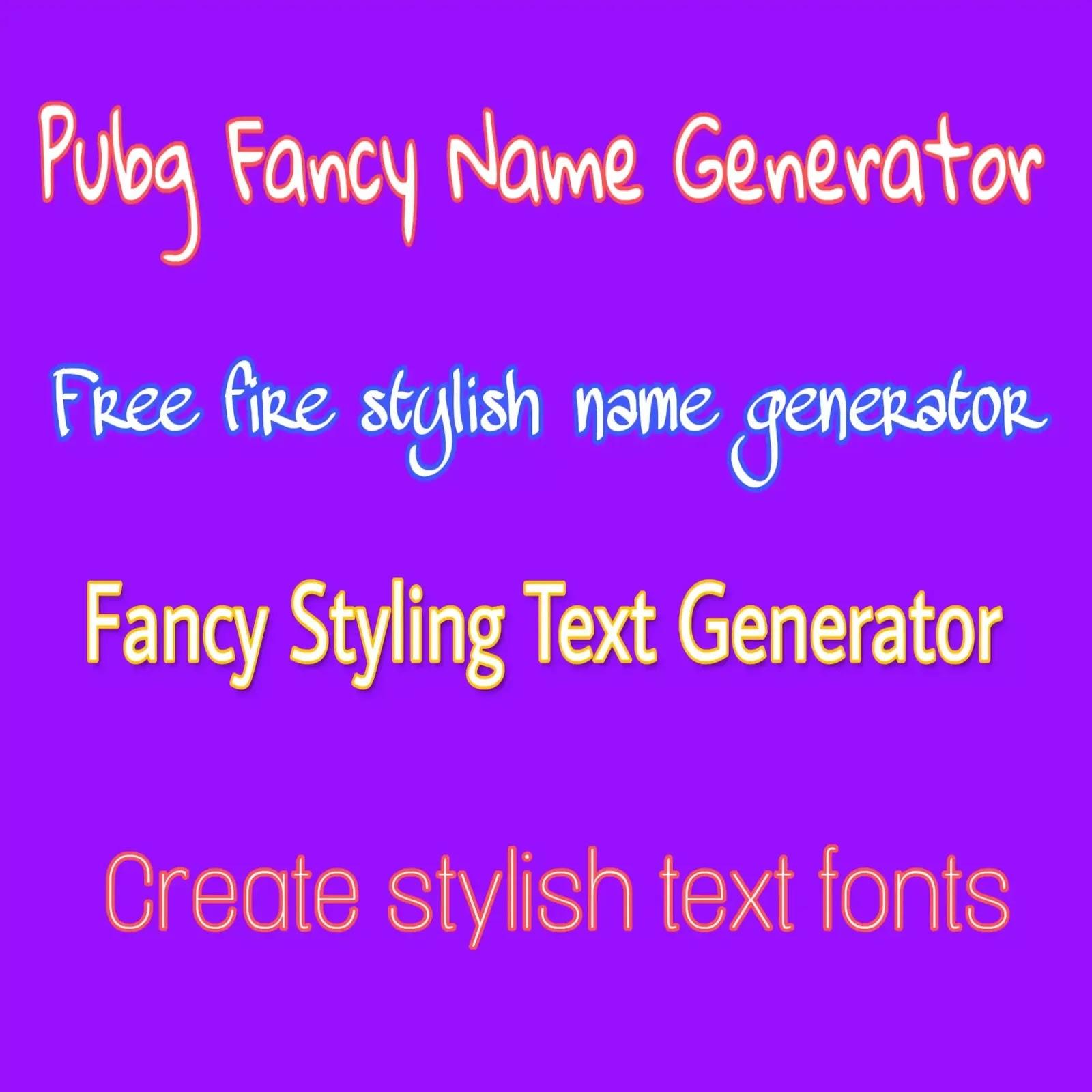 Fancy text maker online, pubg name generator with symbols, fancy text generator, free fire name maker, hit fonts, stylish font maker