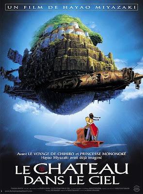 Le château dans le ciel Ghibli