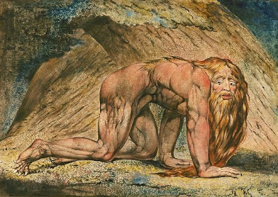 Nebuchadnezzar by William Blake (Daniel 4:30-33)