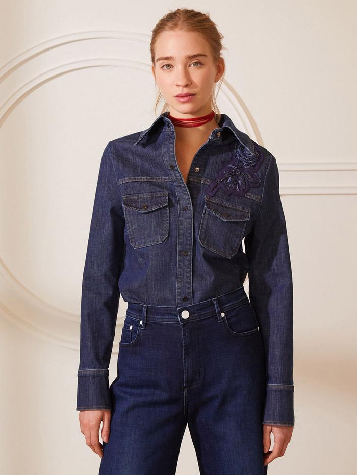 camisas de jeans primavera verano 2021 mujer