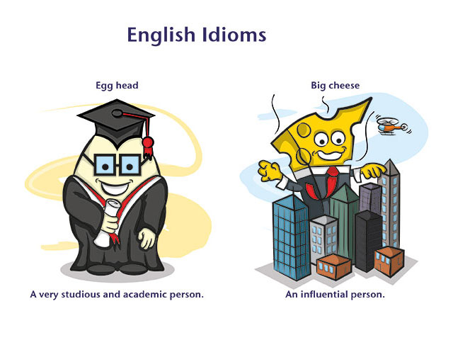 english idioms, new words