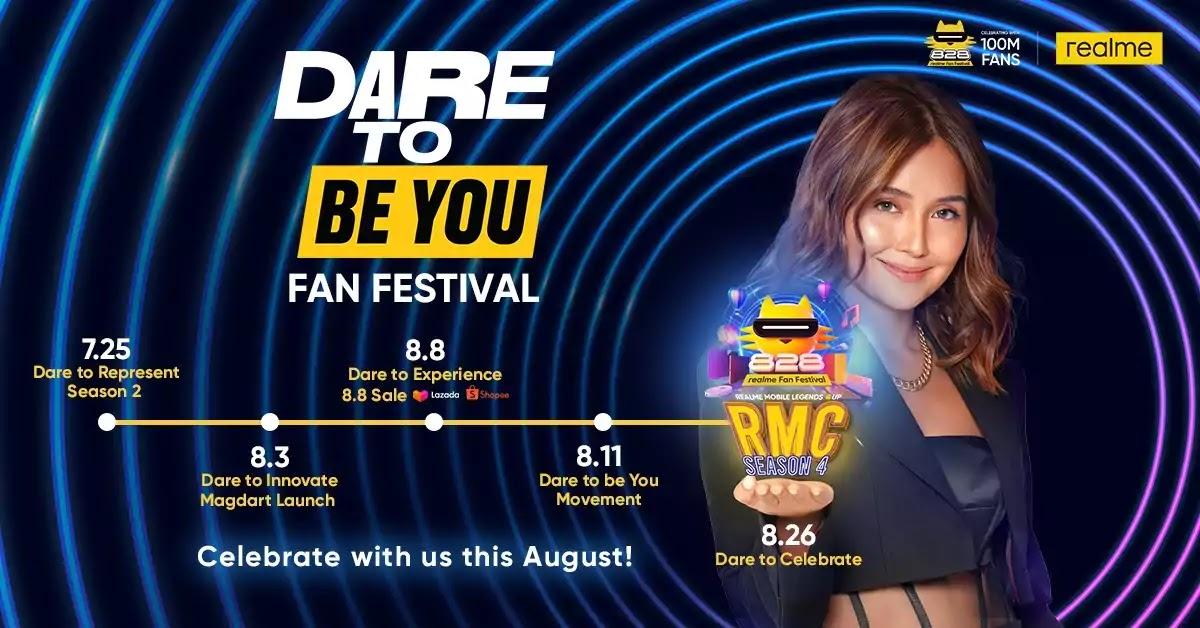 realme Dare To Be You Fan Festival