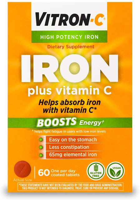 Iron Supplement with Vitamin C