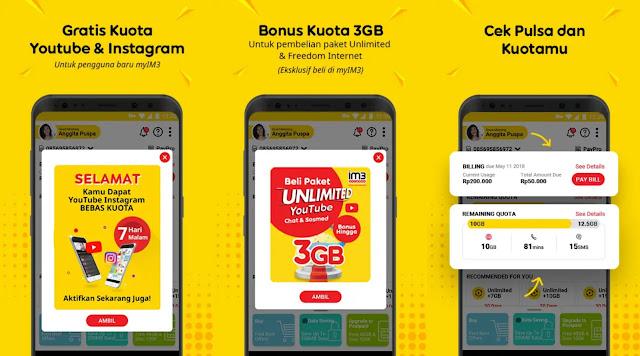 Update! Trik Mendapatkan Kuota Gratis Indosat, 100% Work dan Aman