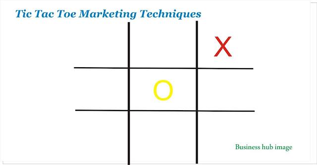 Tic tac toe marketing techniques