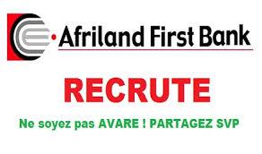 Afriland_Firstbank_recrute !