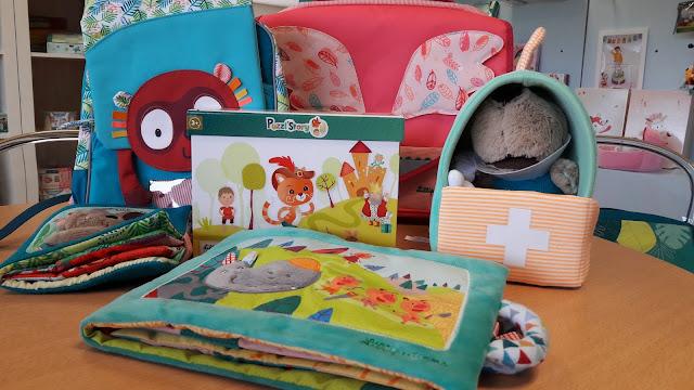 lilliputiens jouets en tissus