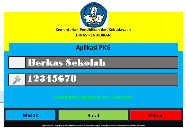 Aplikasi PKG 2020 Full Versi