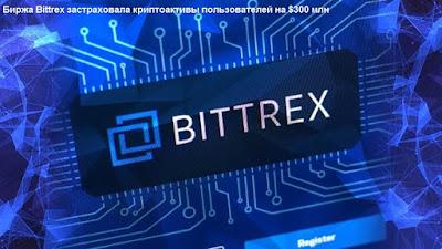 Биржа Bittrex застраховала криптоактивы пользователей на $300 млн