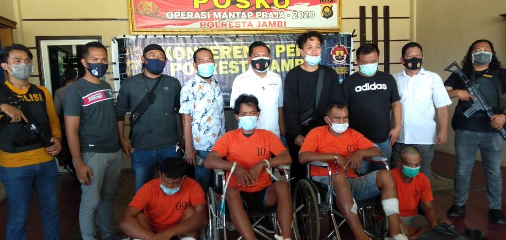 Pelaku Perampok Emas di Jambi Jual Emas di Palembang dan Untuk Ivestasi