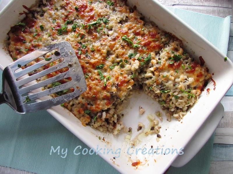 Най-вкусното пиле с ориз и гъби * Risotto supremo