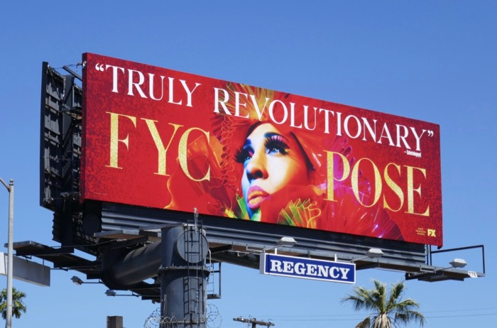 Pose season 1 Emmy FYC billboard