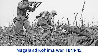 Nagaland Kohima War 1944-45