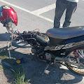 Sepeda Motor Tabrak Mobil di Saitnihuta, Pengendara Luka-luka