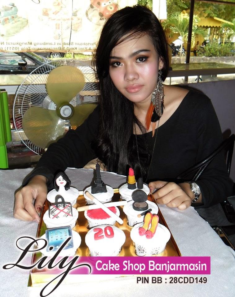 Lily Cake Shop Banjarmasin Pelanggan Cup Cake