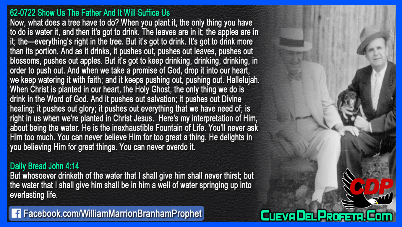 When Christ is planted in our heart - William Branham